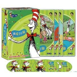 【4 DVD 】The Cat in The Hat knows a lot about that 戴帽子的貓 BOX #3