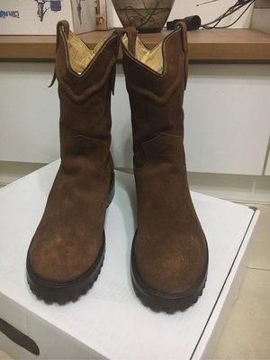 Yuketen 麂皮 牛仔靴 西部靴 工程師靴  engineer boots 10D 全新品未落地 pecos