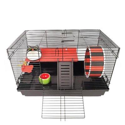 倉鼠籠子47基礎籠金絲熊刺猬花枝小寵超大裸籠相親籠套餐籠別墅