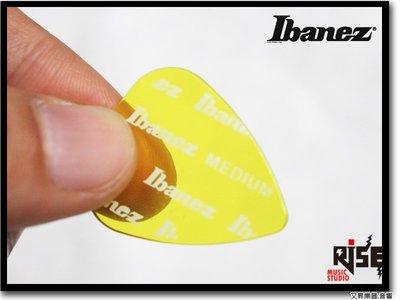 【成功樂器】Ibanez ANL141M-YE 半透明 彈片 PICK 匹克 0.7mm 黃色 十片以上免郵資