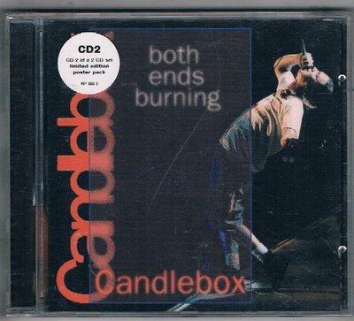 [鑫隆音樂]西洋CD-Candle Box / both ends burning {KTS355}/全新/免競標
