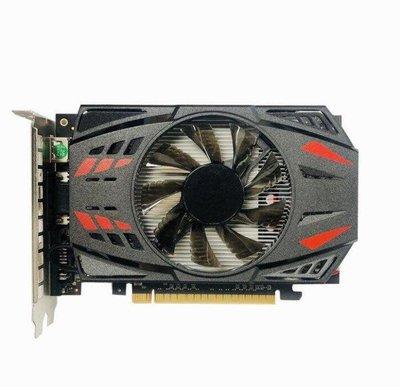 【現貨】全新 GTX1050Ti 4G顯卡 高清遊戲獨立顯示卡DDR5臺式電腦顯卡 溫控靜音15273