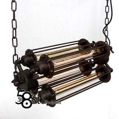 【58街-高雄館】米蘭展設計「Contrary 正負極吊燈_4燈款」時尚設計師的燈。複刻版。GH-374