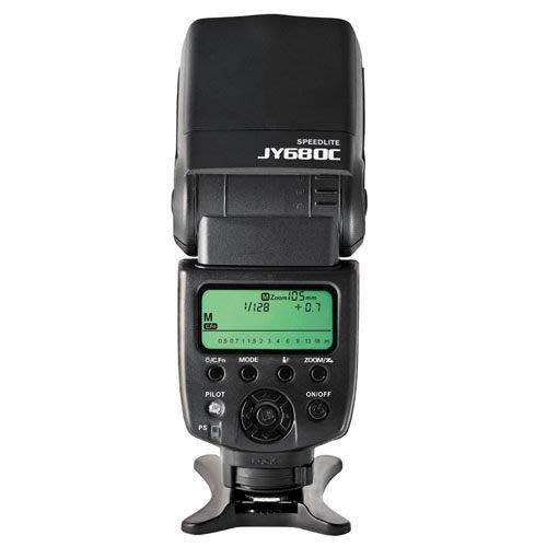 呈現攝影-Viltrox JY-680C TTL閃光燈 Canon用 ETTL 從屬 光觸發 離機閃 公司貨