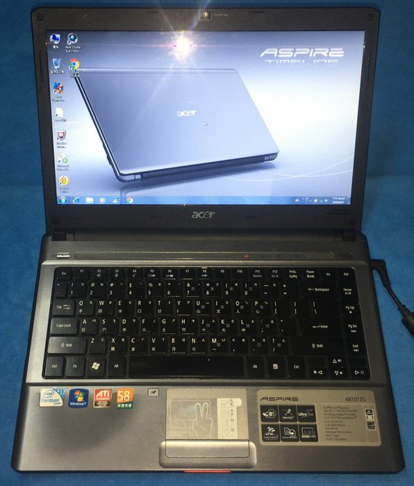 Acer-Aspire 4810TZG 14吋 獨顯