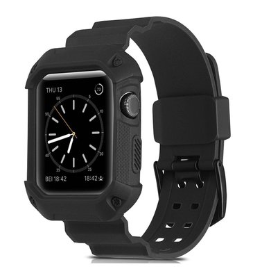 AppleWatch 運動錶殻連錶帶 1秒變G-Shock for 42MM series 1/2/3