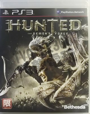 【二手遊戲】PS3 獵殺:惡魔熔爐 Hunted: The Demon's Forge 英文版【台中恐龍電玩】