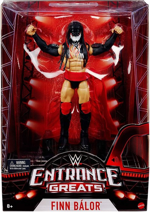 ☆阿Su倉庫☆WWE Finn Balor Entrance Greats Elite Figure 出場樂精華版人偶