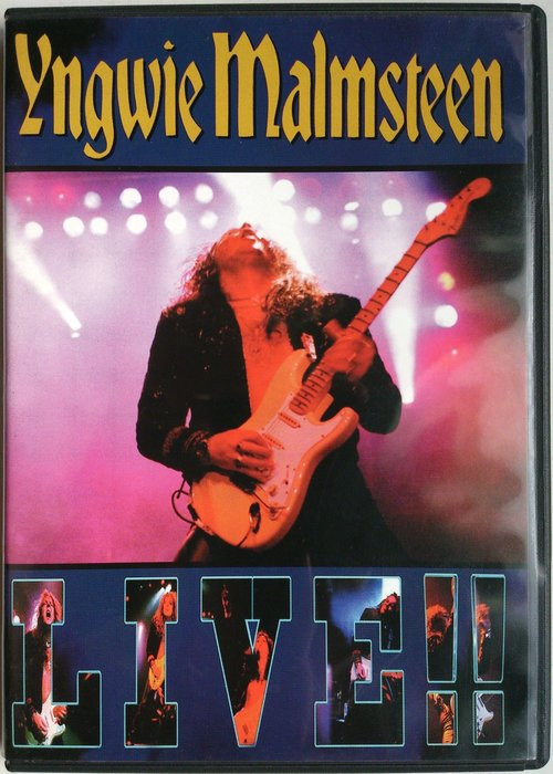 DVD/ Yngwie Malmsteen - Live!! 二手英版