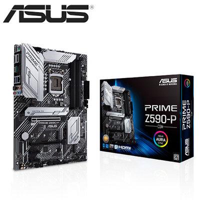 華碩 PRIME Z590-P/CSM(ATX/1H1P/Realtek 2.5Gb/註四年)