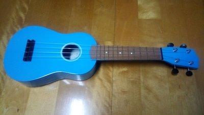 21吋烏克麗麗~淺藍色(保存良好,附原廠紙盒)