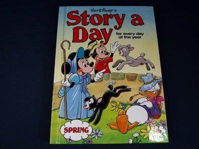 【懶得出門二手書】《Story a Day for every day of the year》│Disney│ 八成新(11A24)