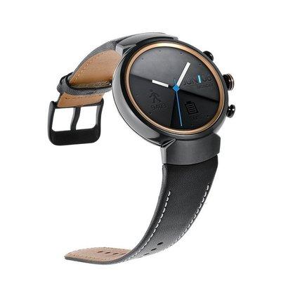 $娜娜錶帶$ Asus ZenWatch 3真皮錶帶 華碩ZenWatch三代 真皮錶帶