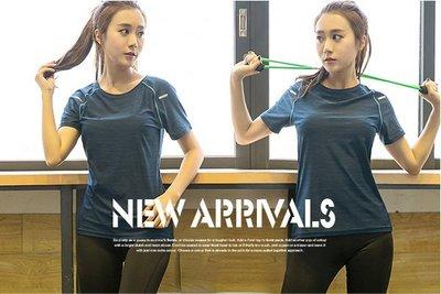 ~☆☆BIGMAYMAY☆☆~中大尺碼【X2198】大碼新款速乾排汗顯瘦優質運動休閒瑜伽短袖上衣