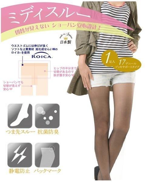 【拓拔月坊】日本知名品牌 M&M Frifla 17丹 全透明肌感 褲襪 日本製~現貨!
