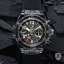 Hublot [NEW][LIMITED 500 PIECE] Big Bang UNICO Magic Sapphire 411.JX.1170.RX
