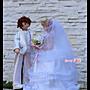 知心花園鄉村娃娃--花嫁婚紗布娃娃材料包--附上版型、布料、蕾絲、幸福配件、娃娃架