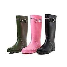 韓版雨靴/長靴/ 膠鞋/水鞋/ 女裝長boot /rainboot /雨鞋(粉色40)有現貨可面交