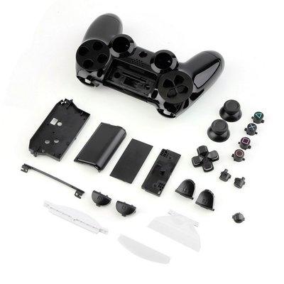 PS4 無線 控制器外殼 手把外殼 把手外殼 黑色外殼(副廠外殼密合度與外觀難免會有擦傷不介意再買)【台中恐龍電玩】