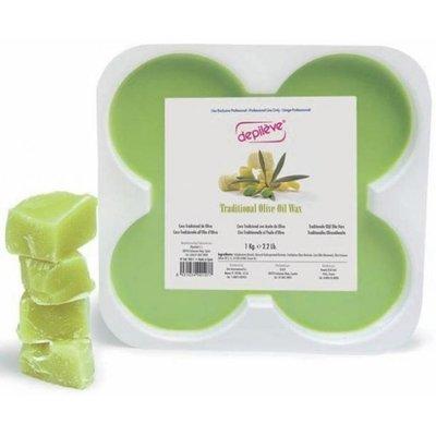 Depileve  傳統橄欖油熱蠟 傳統熱蠟 (不需使用脫毛紙) Traditional Wax  500G