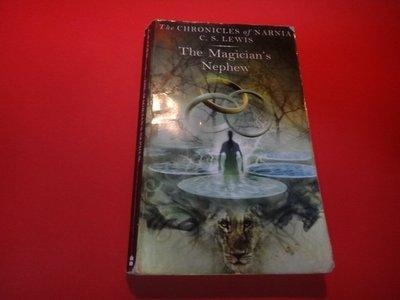 【愛悅二手書坊 01-33】The Magician's Nephew    C. S. Lewis(瑕)
