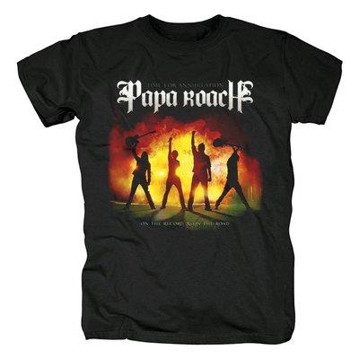 蟑螂老爹Papa Roach硬搖滾The Paramour Sessions專輯金屬音樂T恤