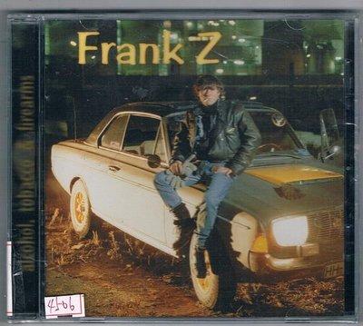 [鑫隆音樂]西洋CD-Frank Z法蘭克Z:alcohol,& firearms (全新)免競標