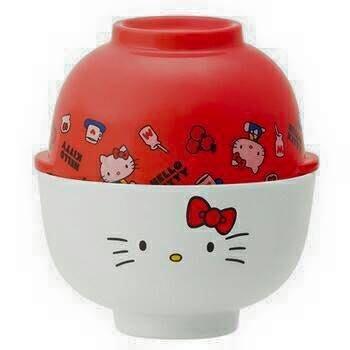 日本 KITTY可愛造型茶碗