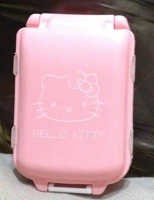 全新Hello Kitty 三層八格 攜帶式迷你隨身藥盒/收納盒/工具盒