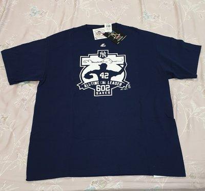 Majestic Yankees #42 MARIANO RIVERA 602 Saves T-Shirt 洋基 T恤