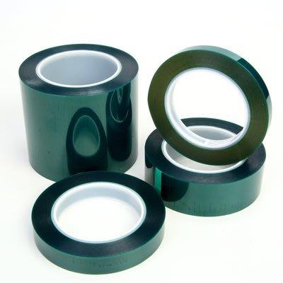3M PET 遮蔽 膠帶 30mm * 66M 綠色 - 美紋 耐高溫 紙膠帶 烤漆 和紙 粉體 8992 -
