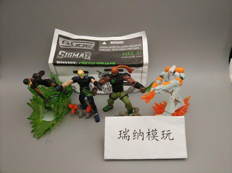千秋 孩之寶 SIGMA6/S6特種部隊 GIJOE 2.5寸可動 巡回打擊者 套裝