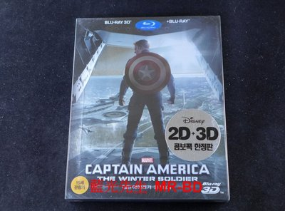 [3D藍光BD] - 美國隊長2:酷寒戰士 Captain America:The Winter Soldier雙碟鐵盒