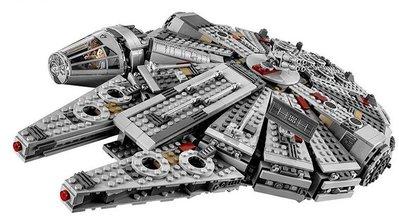【積木反斗城】樂拼 Star War 05007 星際大戰 千年鷹 韓 索羅 /相容 樂高 LEGO 75105