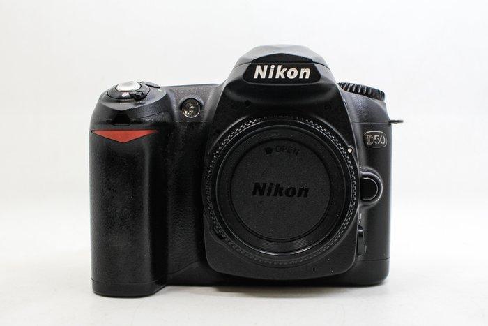 【台南橙市3C】Nikon D50 單機身 610萬 APS-C 快門數約29575次 二手單眼#21595