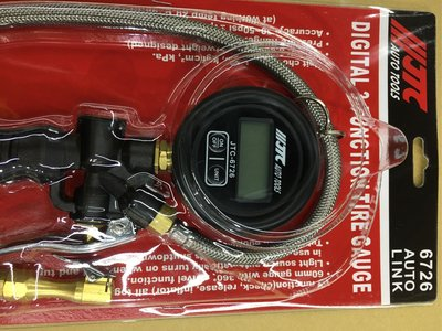 JTC 電子胎壓錶  RANGE 3-150PSI
