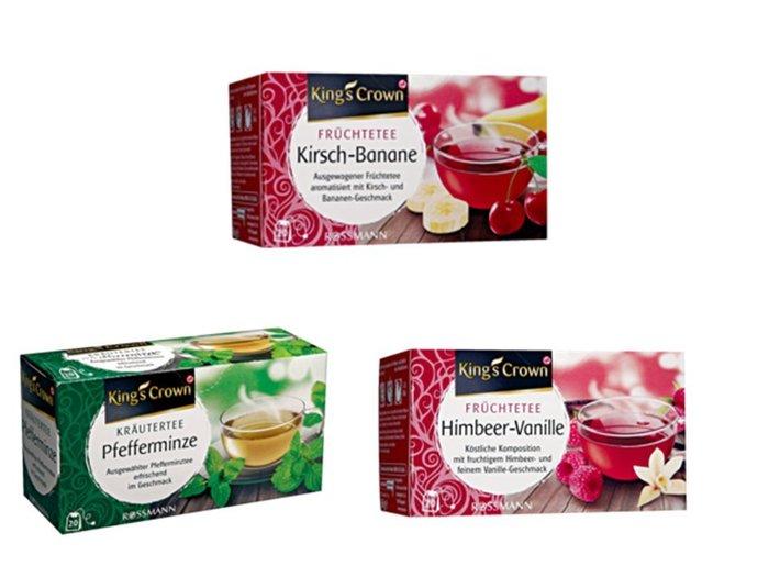 德國 King's Crown茶 國王皇冠茶全天然花草茶/草本茶/水果茶共19款任選6盒 made in Germany