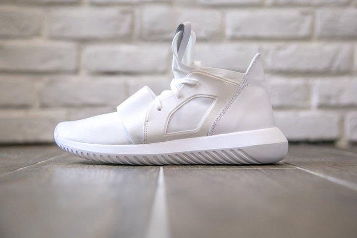 【美國鞋校】現貨 ADIDAS TUBULAR DEFIANT 忍者鞋 武士鞋 襪套式 全白 S75250
