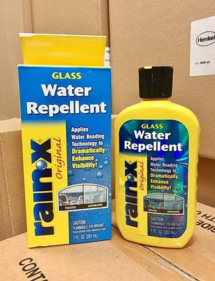 3罐330元【阿齊】潤克斯 Water Repellent RAIN X Rain X 潑水劑 撥水劑 免雨刷