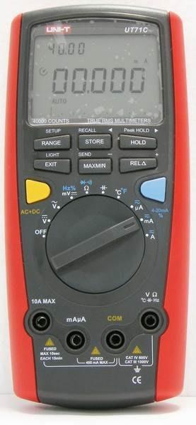 TECPEL 泰菱 》UNI-T 優利德 UT 71C USB款 三用電表 三用電錶 + 記錄100筆 UT71C