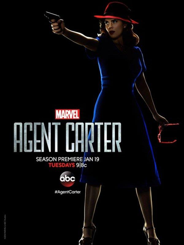 【藍光電影】卡特探員 / 特工卡特 第二季 共2碟 Agent Carter Season 2 (2016)