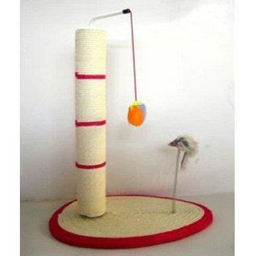YEAHSHOP 貓玩具劍麻貓抓板彈簧鼠貓臺貓咪Y185