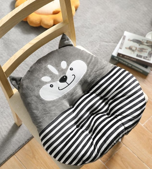 SX千貨鋪-卡通椅子坐墊餐桌椅子墊沙發墊子加厚透氣久坐不累校用兒童小墊子