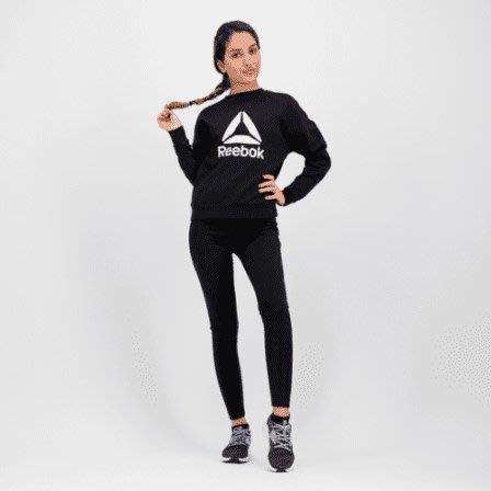 限時特價南◇2020 12月 Reebok Workout Ready Big Logo 黑色 長TEE DY8098