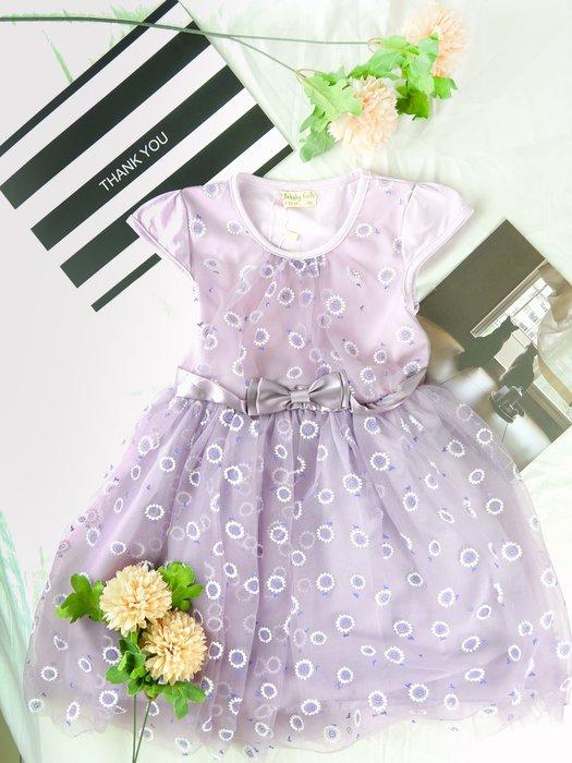 [木馬家]紫色夢幻公主小洋裝 童裝
