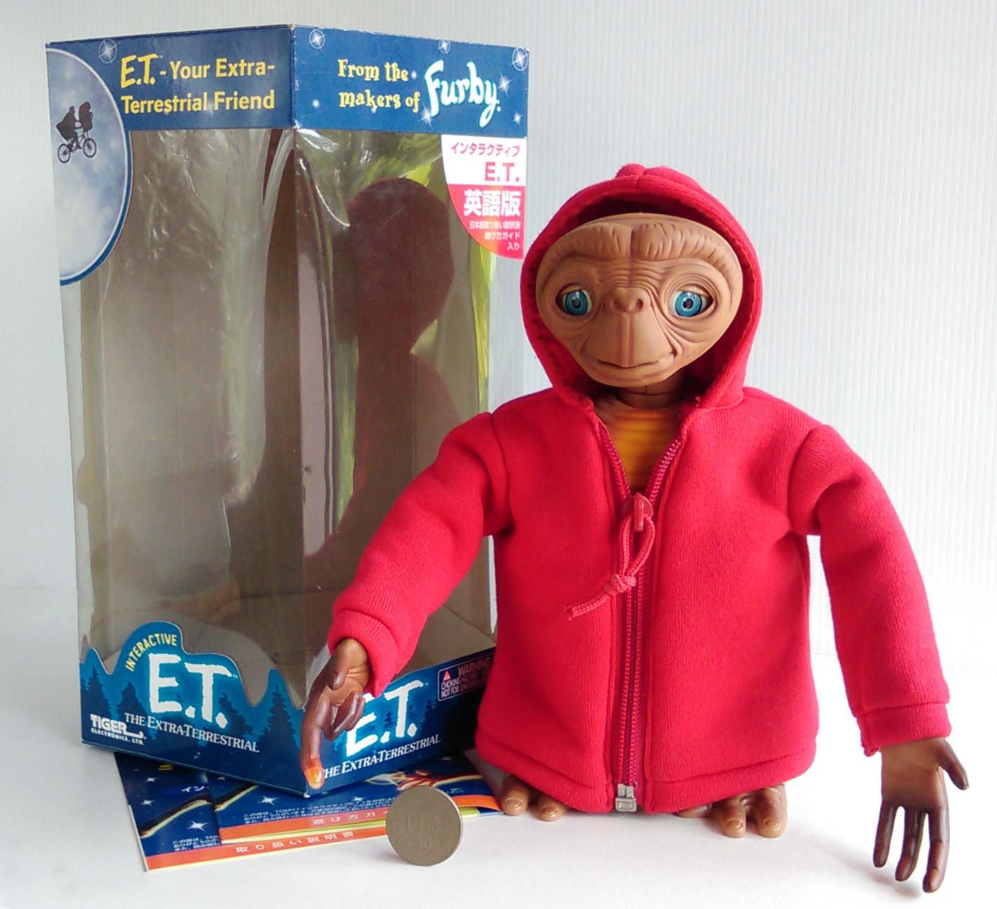 Hasbro 孩之寶 ~ INTERACTIVE E.T. Furby 外星人 菲比小精靈 ET