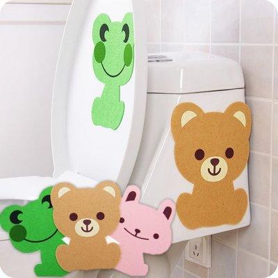 浴室馬桶除臭貼 消臭貼 卡通動物居家除臭-艾發現