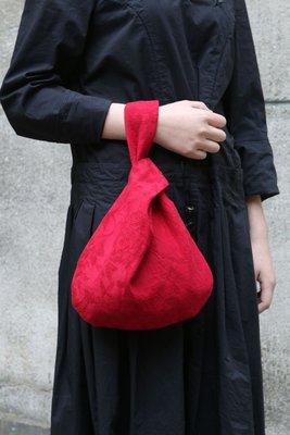 (老銀屋)原創棉麻提花日式布包/手提包