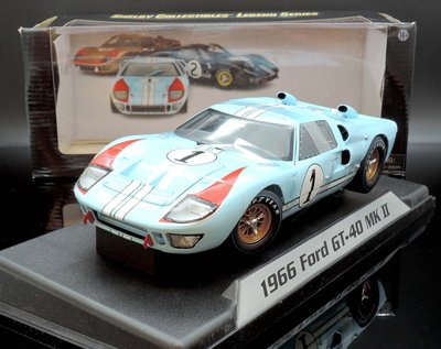 【M.A.S.H】現貨特價 Shelby Collection 1/18 Ford GT40 #1 1966 賽道狂人