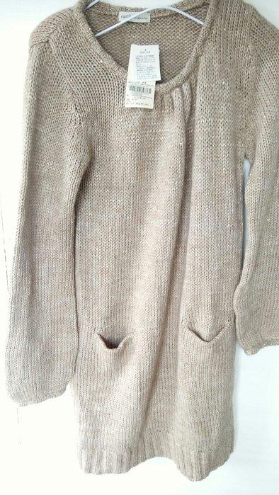 毛衣洋裝 earth 米駝色